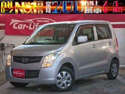 🚗  マツダ AZワゴン   格安車両 月々19100円~ OK!!小回り抜群の軽車両! 営業車、通勤、お買い物に最適です‼ セカンドカーに、いかがでしょうか?