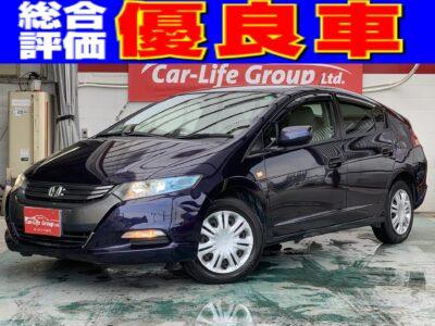 インサイト G ✨なんと月々支払1万円台!!Hybrid&平均燃費20㎞/ℓ以上✨ 純正HDDナビ地デジ&バックカメラ&ETC&HIDヘッドライト装備充実です(^^♪ 総合評価優良車!!