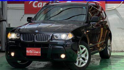 BMW X3 Mスポーツ ★総合評価優良★☆4WD☆ ✨内外装美車✨ サイドカメラ 前後コーナーセンサー 付きで安心安全運転(^^♪ ミラーETC クルーズコントロールで快適✨ 納車時タイヤ4本新品!!