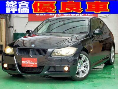 BMW 320i Mスポーツ ★総合評価優良車★ THE☆お手頃BMW!!!コンパクトサルーンのBMW3シリーズが入庫致しました!!走りを極めたMスポーツ♩キビキビ走るこだわりのスポーツモデルです(∩´∀`)∩二\嬉しい車検4年3月まであります!!!