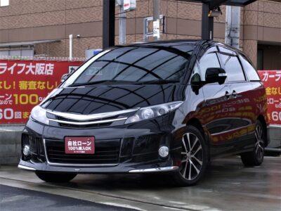 ESTIMA エスティマ アエラス 50系エスティマ後期のブラック入荷✨ 走行中フルセグTV・DVD視聴可能な純正8インチナビやパワーバックドアなど嬉しい装備が盛りだくさん💎 天井に大型のプラズマクラスターが設置されており、この時期嬉しい除菌・消臭性能✨✨ 外装デザインはなんとモデリスタエアロを搭載💎 車種専用の純正ドレスアップメーカーなのでしっくりくるデザインです😎 キャプテンシートとフリップダウンモニターを使用すれば後席は極上空間となります🌃 超人気車種となりますので早急にお問い合わせください💣 《1年保証付》